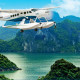 Seaplane in Halong Bay - Tour from Hanoi to Halong Bay